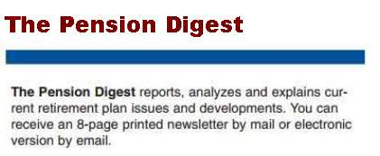 Pension Digest Newsletter